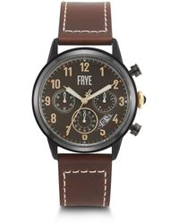 Frye Graham Whiskey Leather Watch - Multicolor