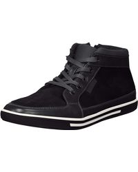 Kenneth Cole Reaction Center Mid Sneaker - Black