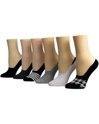 Betsey Johnson Foot Liner - White