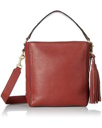 Cole Haan - Cassidy Small Bucket Crossbody Leather Bag - Lyst