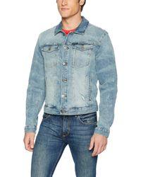 Calvin Klein - Denim Trucker Jacket - Lyst