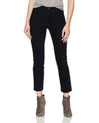 AG Jeans The Isabelle Vintage Straight Leg Crop Jean - Black