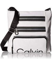 Calvin Klein - Calvin Kelin Athleisure Nylon Organizational Crossbody - Lyst