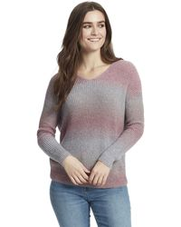William Rast Lainey Twist Back Sweater - Multicolor
