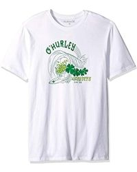 Hurley St. Patrick's Day Graphic Tee - White