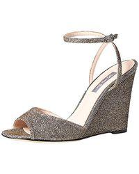 SJP by Sarah Jessica Parker Boca Wedge Ankle Strap Sandal - Multicolor