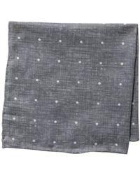 Vince Camuto - Denim Dot Pocket Square - Lyst