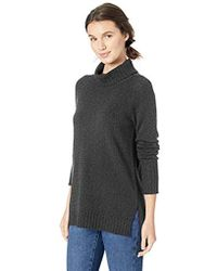 Daily Ritual - Turtleneck Tunic Sweater - Lyst
