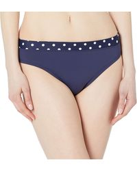 Nautica Standard Mid Rise Banded Bottom - Blue
