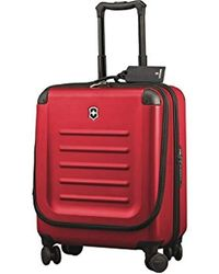 Victorinox Spectra 2.0 Hardside Dual-access Carry-on Spinner Luggage - Red