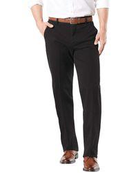 Dockers Workday Khaki Smart 360 Flex Pants - Black