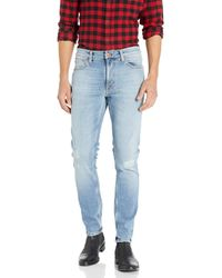 Nudie Jeans - Adult's Lean Dean Indigo Mountain - Lyst