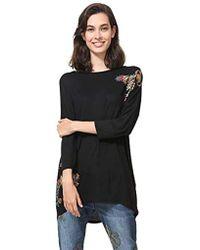 f067921b0dc Lyst - Women s Desigual T-shirts On Sale