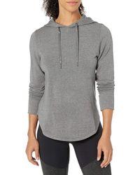 Core 10 Cloud Soft Yoga Fleece Hoodie - Gray