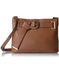 Calvin Klein - Nola Belted Top Zip Novelty Crossbody - Lyst