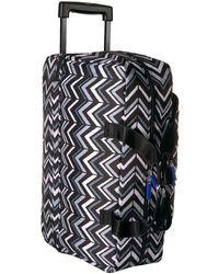 Vera Bradley Lighten Up Wheeled Duffle Carry-on Luggage - Multicolor