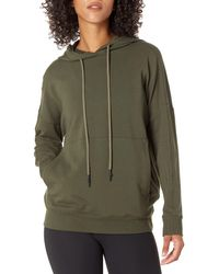 Core 10 Standard Soft Cotton Modal Oversized Relaxed Fit Sweatshirt Hoodie - Green
