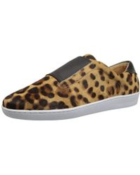 fc5784202331 Keds Pointer Leopard Print Pony Hair Sneaker - Lyst