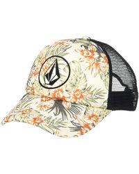 Volcom Into Paradise Trucker Foam Snapback Hat - Multicolor