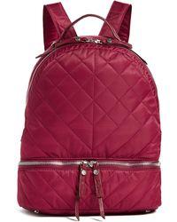Sam Edelman Penelope Nylon Backpack - Red