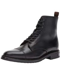 Frye - Officer Lace Up Combat Boot - Lyst