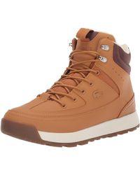Lacoste Urban Breaker Fashion Boot - Brown