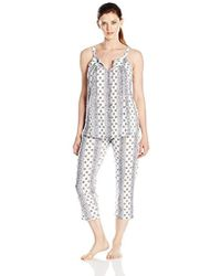 Lucky Brand - Tank Pajama Set - Lyst