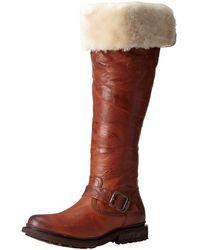 FRYE Womens Valerie Sherling Pull-On Riding Boot