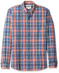 Goodthreads Amazon Brand - Long-sleeve Doubleface Shirt - Blue