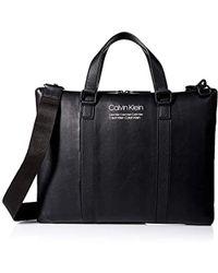 Calvin Klein Slim Attache - Black