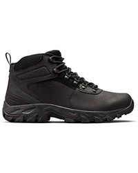 Columbia Newton Ridge Plus Ii Waterproof Hiking Boot, Breathable, High-traction Grip - Black