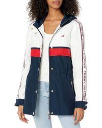 Tommy Hilfiger S Iconic Anorak Jacket ,white