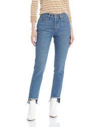 Volcom Junior's Super Stoned Skinny Fit Ankle Denim Pant - Blue