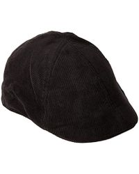 58a51ff340d Lyst - Levi s Ivy Newsboy Hat in Black for Men