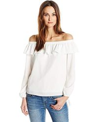 Cooper & Ella Leticia Off The Shoulder Blouse - White