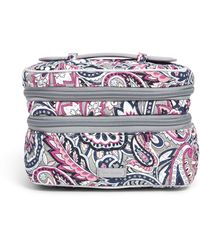 Vera Bradley Signature Cotton Jewelry Organizer Train Case - Multicolor