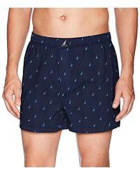Nautica - Classic Cotton Woven Boxer - Lyst