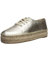 Nine West - Gingerbred Metallic Oxford Flat - Lyst