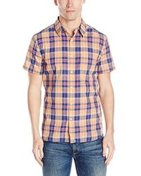 Lucky Brand - Short-sleeve Ballona Shirt - Lyst