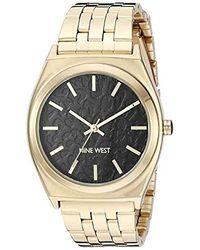 Nine West - Rose Gold-tone Bracelet Watch, Nw/2384rgrg - Lyst