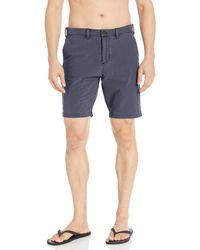 Billabong New Order X Overdye Shorts Blue 34
