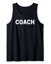 COACH Tank Top - Red
