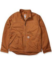 Carhartt Flame Resistant Full Swing Quick Duck Jacket - Brown