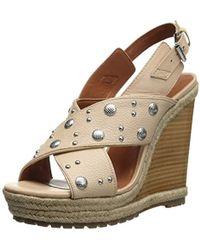 Rebecca Minkoff - Kimiko Stud Wedge Sandal - Lyst