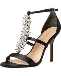 Via Spiga V-philomena Dress Sandal Heeled - Black