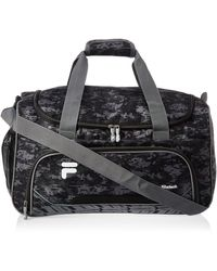 Fila Source Sm Travel Gym Sport Duffel Bag - Black