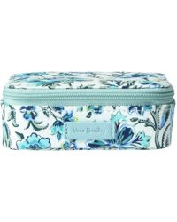 Vera Bradley Signature Cotton Travel Pill - Blue