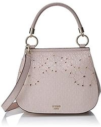 Guess - Jayne Top Handle Flap - Lyst
