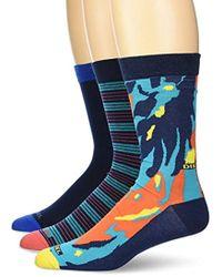 DIESEL - Ray 3 Pack Printed Socks - Lyst