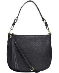 Buxton Convertible Hobo Bag - Black